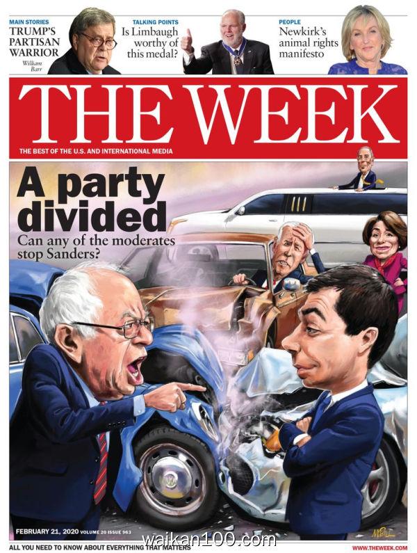 [美国版]The Week 2月刊 29 2020年 [23MB]
