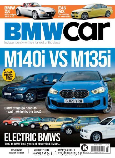 BMW Car 3月刊 2020年高清PDF电子杂志外刊期刊下载英文原版