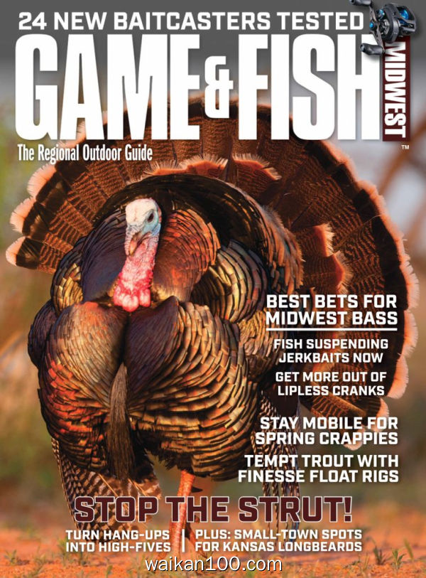 Michigan Game&Fish 4月刊 2020年 [44MB]