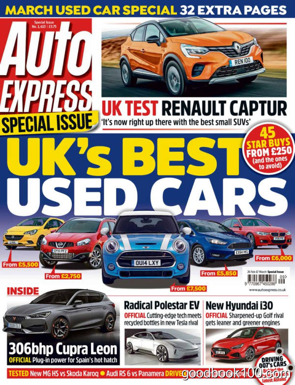 Auto_Express__February_26_2020英文原版高清PDF电子杂志下载