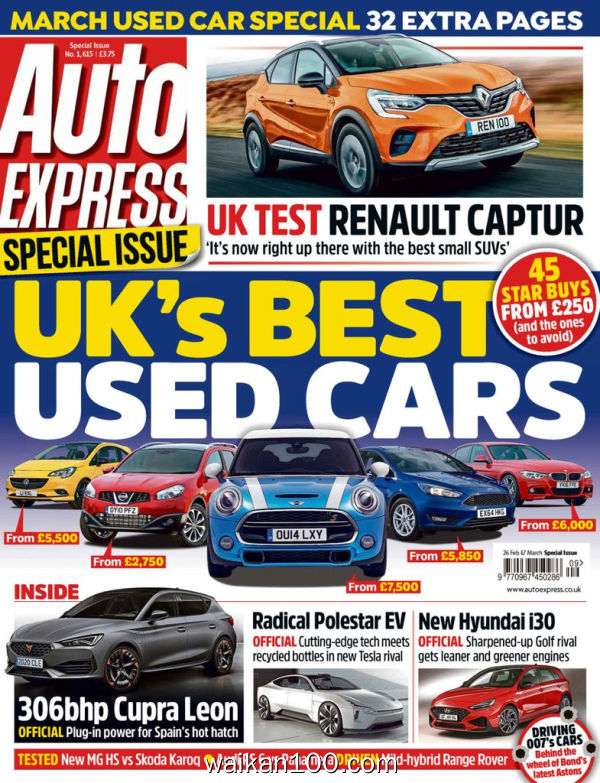 Auto Express 2月刊 26 2020年 [126MB]