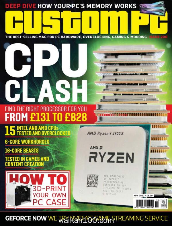 Custom PC 5月刊 2020年 [44MB]