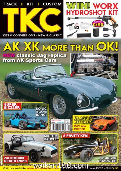 TKC Totalkitcar Magazine 1月2月合刊 2020年高清PDF电子杂志外刊期刊下载英文原版