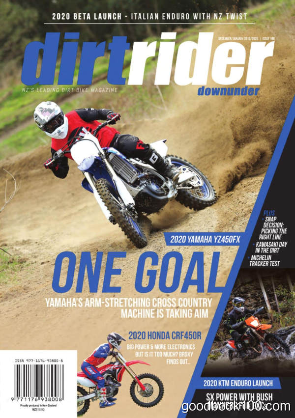 Dirt_Rider_Downunder_-_Issue_166_-_December_2019_-_January_2020英文原版高清PDF电子杂志下载
