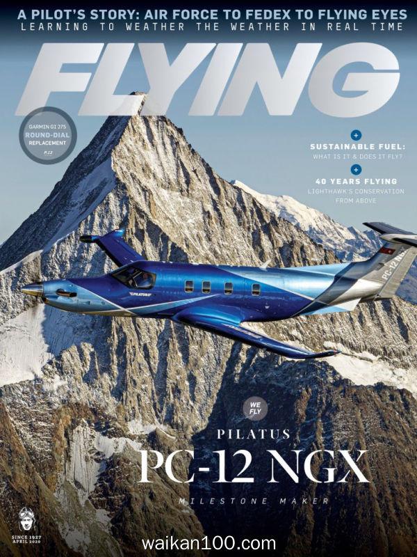 [美国版]Flying 4月刊 2020年 [69MB]