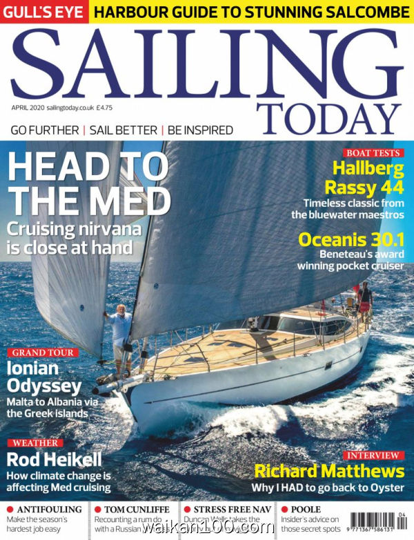 Sailing Today 4月刊 2020年 [57MB]