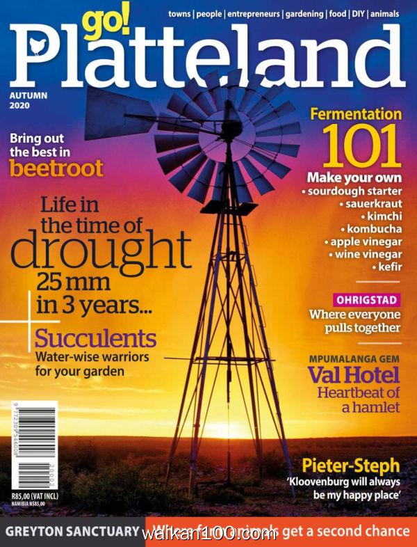 go!Platteland 9月刊 2020年高清PDF电子杂志外刊期刊下载英文原版