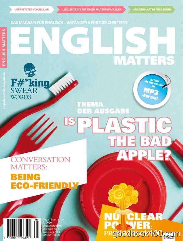 English_Matters_German_Edition_-_Dezember_2019_-_Januar_2020英文原版高清PDF电子杂志下载