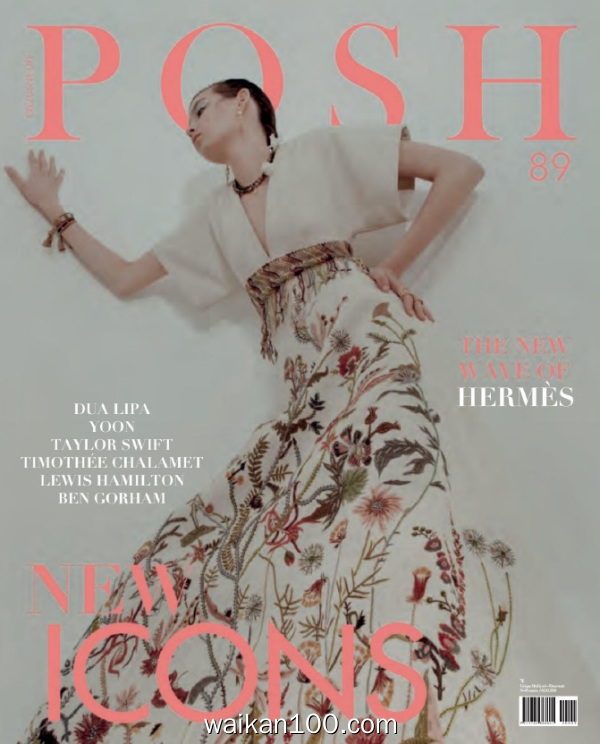 Posh Magazine Febbraio Marzo 2020年高清PDF电子杂志外刊期刊下载英文原版