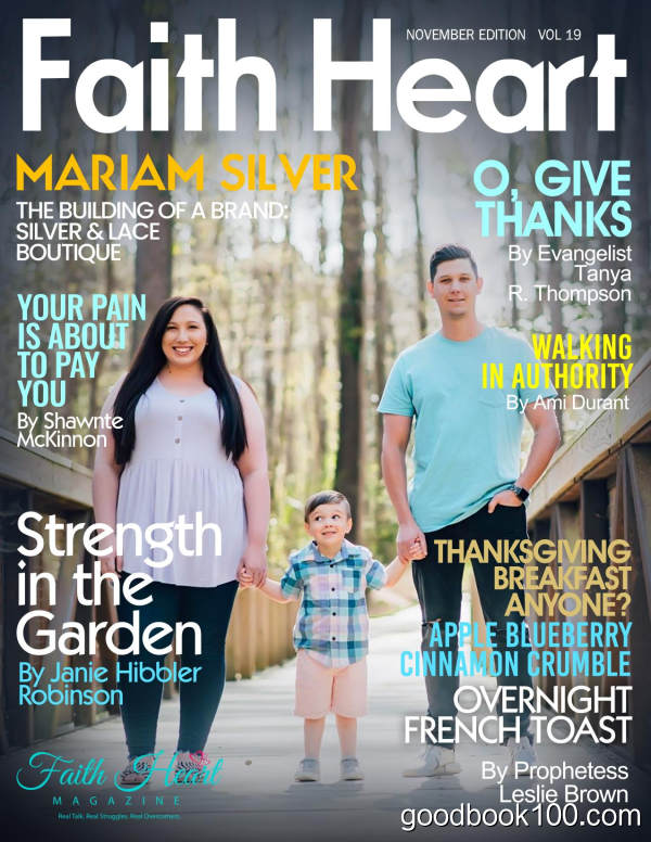 Faith_Heart_Magazine_-_Volume_19_-_November_2019英文原版高清PDF电子杂志下载