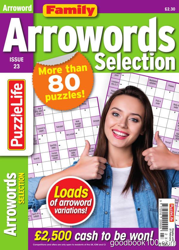 Family_Arrowords_Selection_-_Issue_23_-_January_2020英文原版高清PDF电子杂志下载