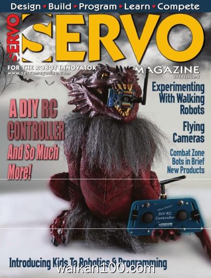 Servo Magazine 总期数No.5 2019高清PDF电子杂志外刊期刊下载英文原版
