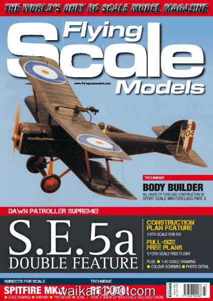 Flying Scale Models 总期数No.244 3月刊 2020年高清PDF电子杂志外刊期刊下载英文原版