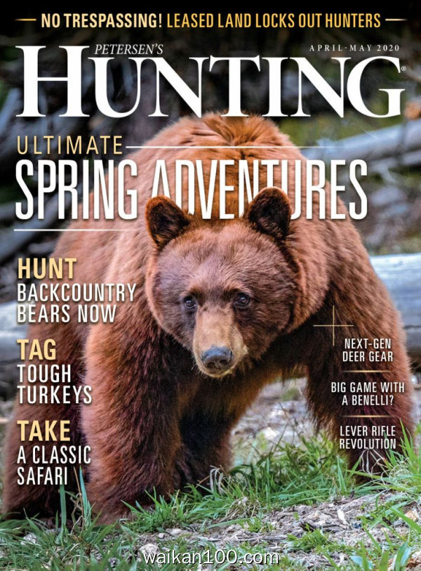 Petersen's Hunting 4月刊 2020年 [36MB]