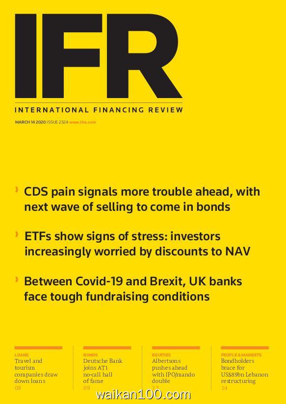 IFR Magazine 3月刊 14 2020年 [5MB]