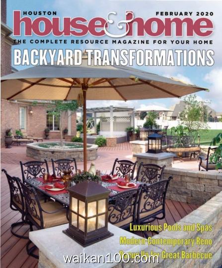 Houston House&Home 2月刊 2020年 [9MB]