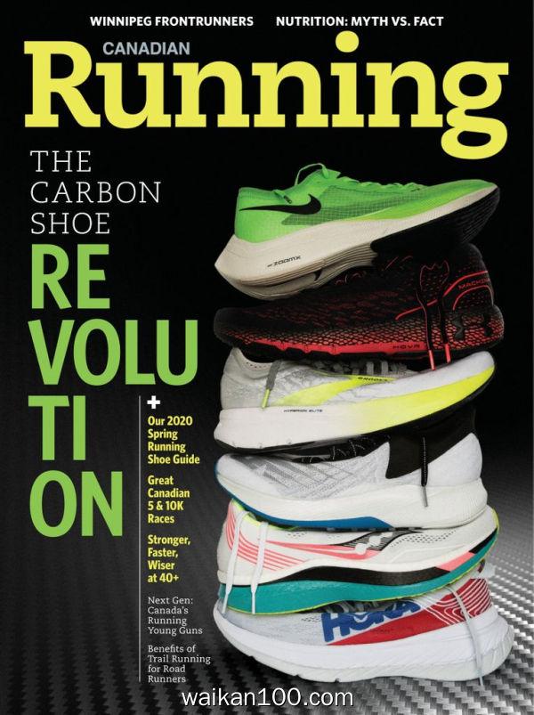 Canadian Running 3月4月合刊 2020年高清PDF电子杂志外刊期刊下载英文原版
