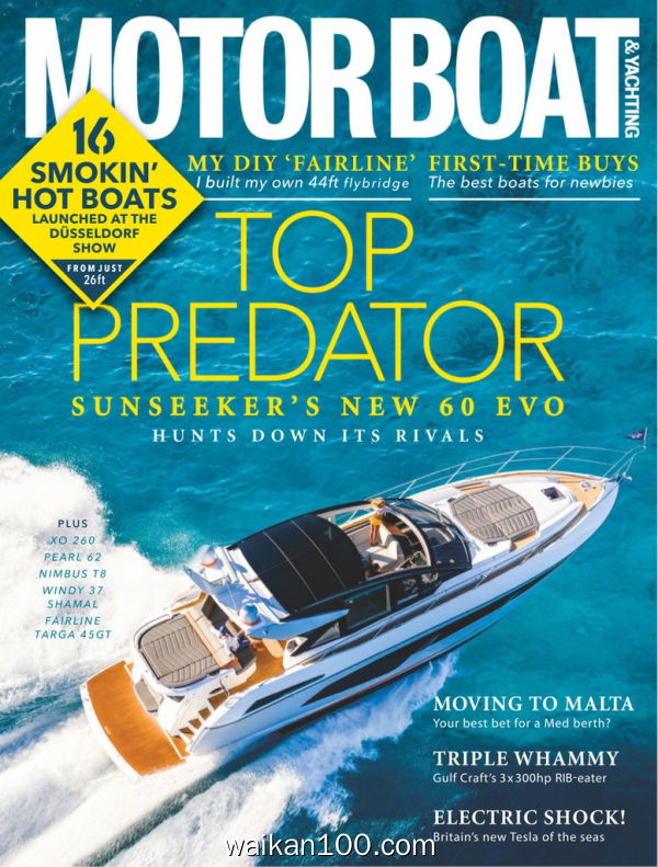 Motor Boat&Yachting 4月刊 2020年高清PDF电子杂志外刊期刊下载英文原版