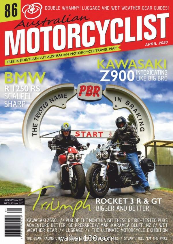 Australian Motorcyclist 4月刊 2020年 [57MB]