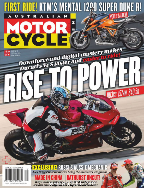 Australian Motorcycle News 2月刊 13 2020年 [66MB]