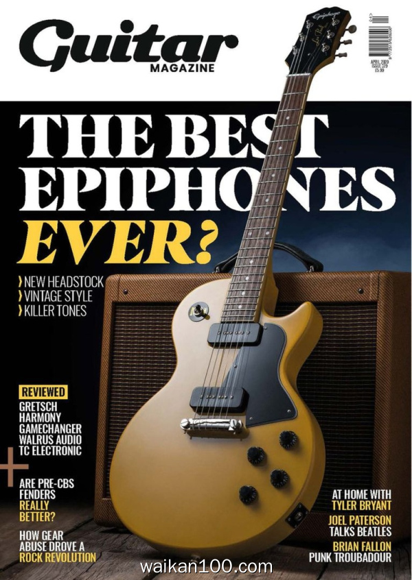 The Guitar Magazine 4月刊 2020年 [167MB]