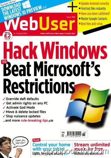 Webuser – Issue 368, 8-21 April 2015