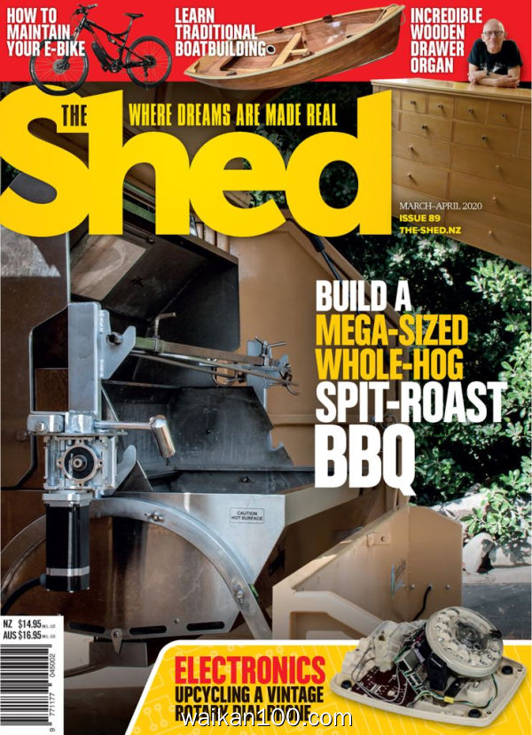 The Shed 3月4月合刊 2020年 [133MB]