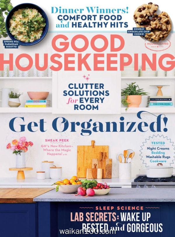 [美国版]Good Housekeeping 3月刊 2020年高清PDF电子杂志外刊期刊下载英文原版