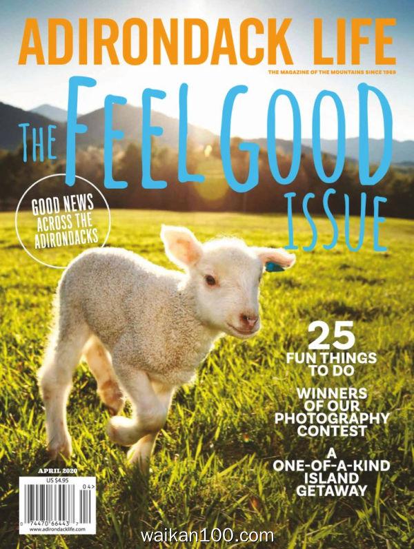 Adirondack Life 3月刊 2020年 [84MB]