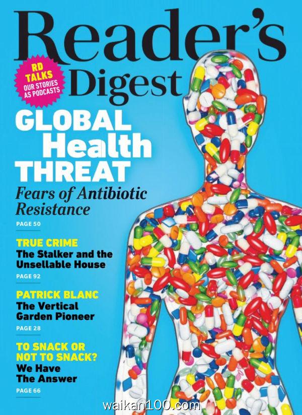 [澳大利亚版]Reader's Digest &New Zealand 3月刊 2020年 [19MB]