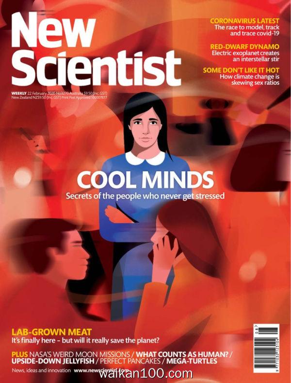 [澳大利亚版]New Scientist n Edition 22 2月刊 2020年高清PDF电子杂志外刊期刊下载英文原版