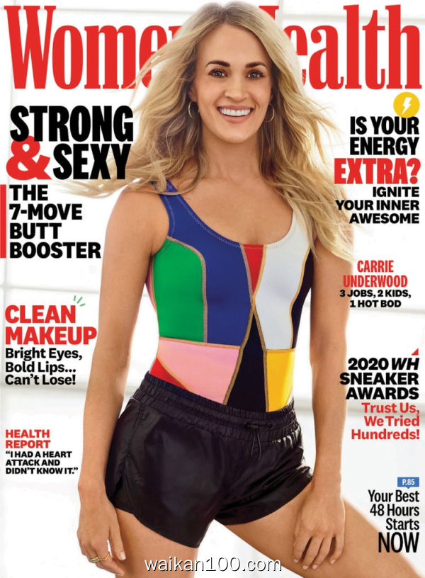 [美国版]Women's Health 4月刊 2020年高清PDF电子杂志外刊期刊下载英文原版