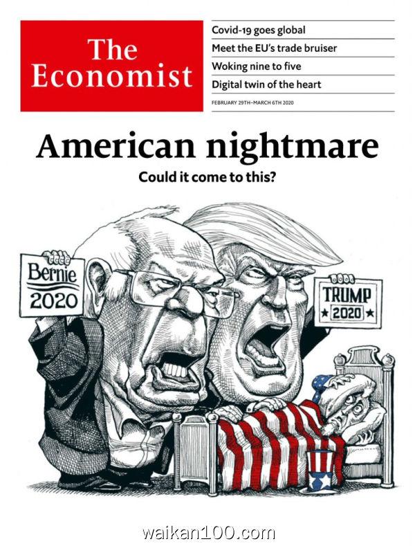 [美国版]The Economist 2月刊 29 2020年 [19MB]
