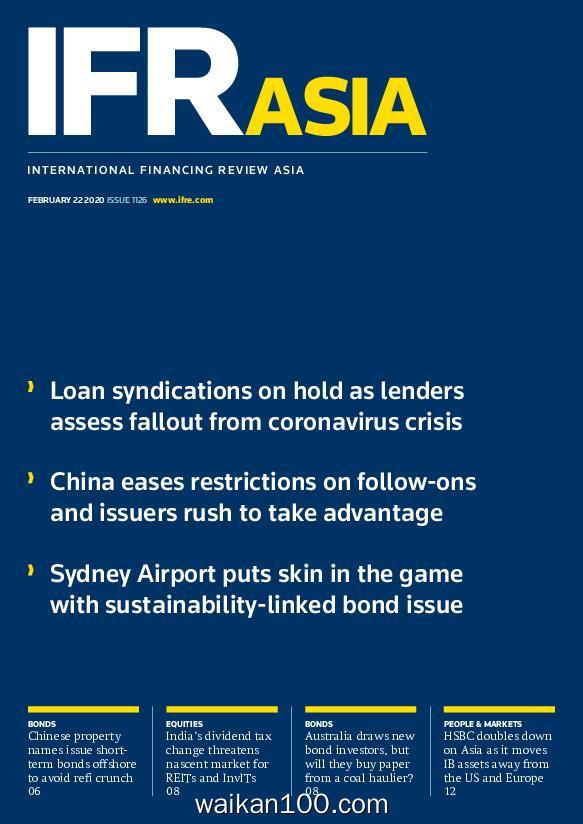 IFR Asia 2月刊 22 2020年 [2MB]