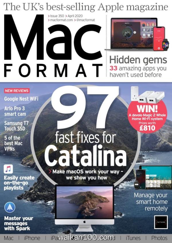 [英国版]MacFormat 4月刊 2020年高清PDF电子杂志外刊期刊下载英文原版