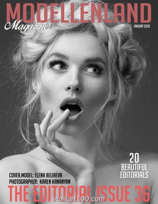 Modellenland Magazine Editorial 总期数No.1月刊 2020年 [141MB]