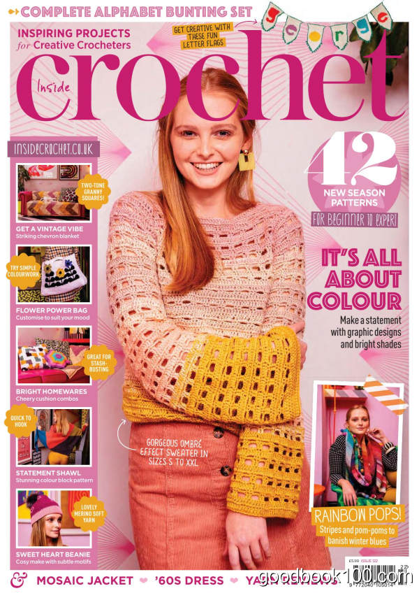 Inside_Crochet_-_Issue_122_-_January_2020英文原版高清PDF电子杂志下载