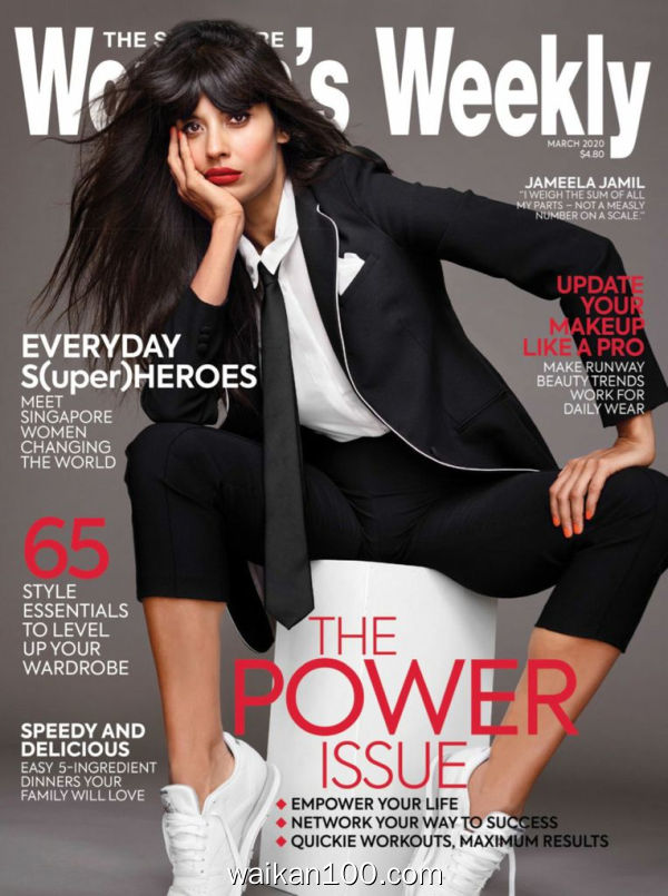 The Singapore Women's Weekly 3月刊 2020年 [36MB]