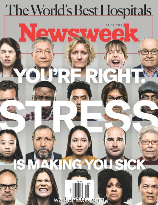 [美国版]Newsweek 3月刊 06 2020年 [57MB]