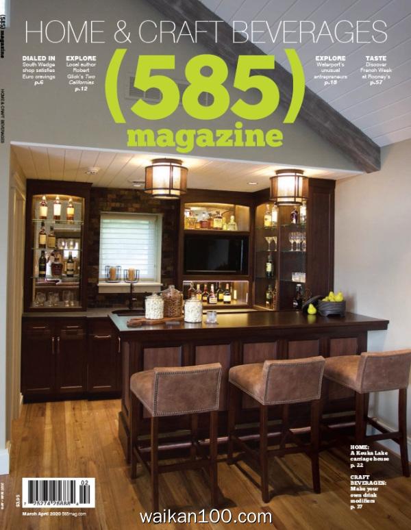 585 magazine 3月4月合刊 2020年 [18MB]