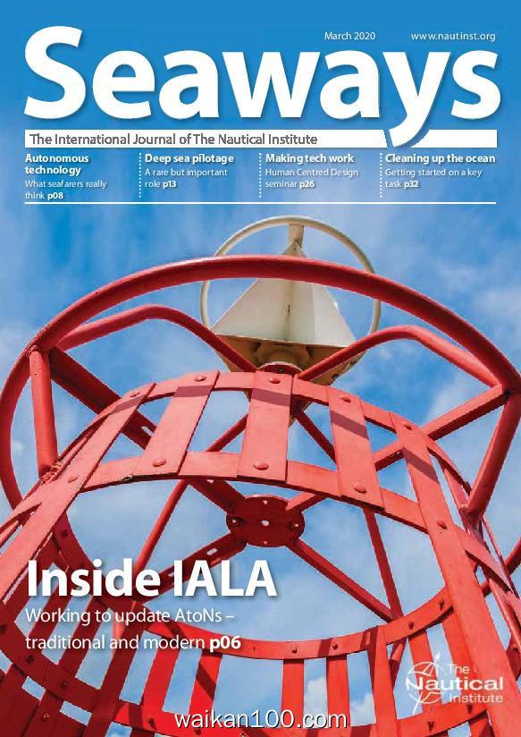 Seaways 3月刊 2020年高清PDF电子杂志外刊期刊下载英文原版