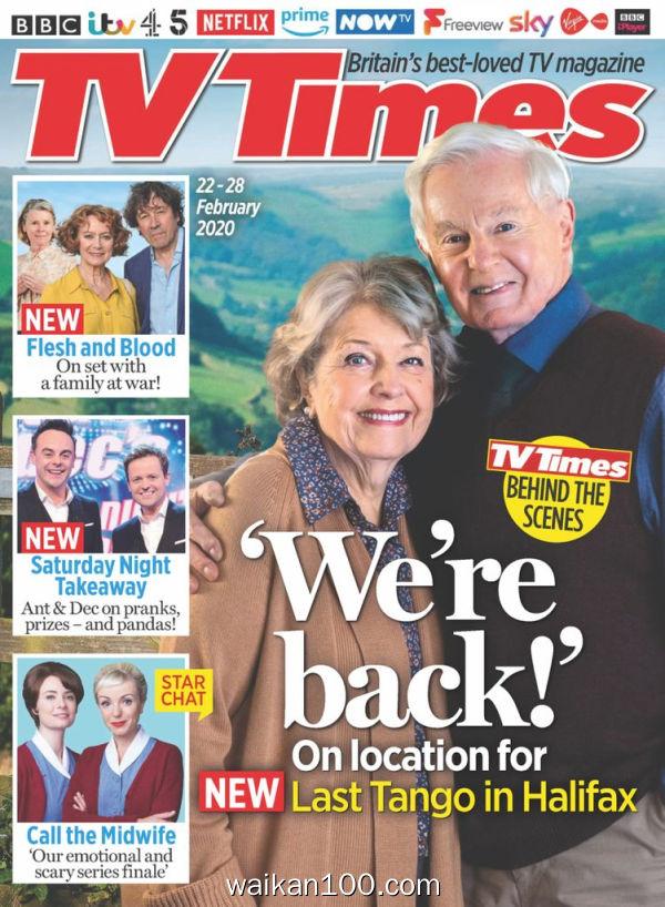 TV Times 22 2月刊 2020年 [88MB]