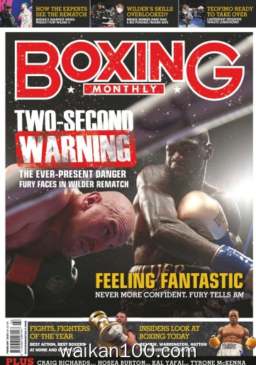 Boxing Monthly 2月刊 2020年 [75MB]