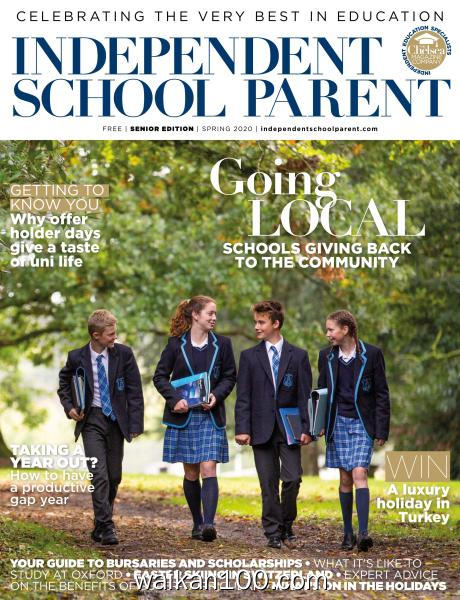 Independent School Parent Senior Edition Spring 2020年 [67MB]