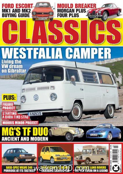 Classics Monthly 总期数No.293 Spring 2020年 [50MB]