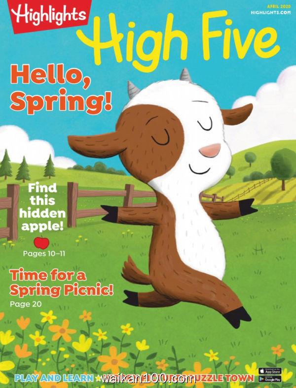 Highlights High Five 4月刊 2020年 [18MB]