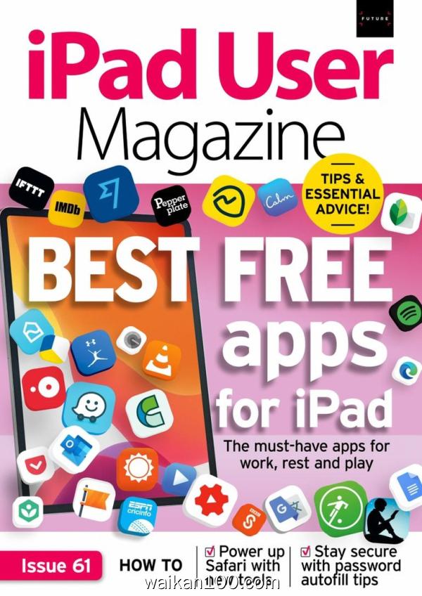 iPad User Magazine 2月刊 2020年 [9MB]
