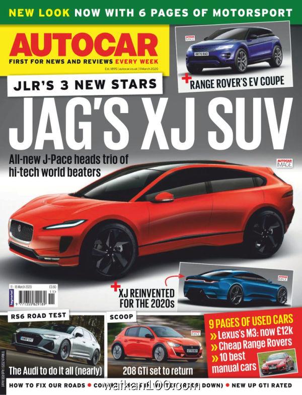 [英国版]Autocar 11 3月刊 2020年 [88MB]