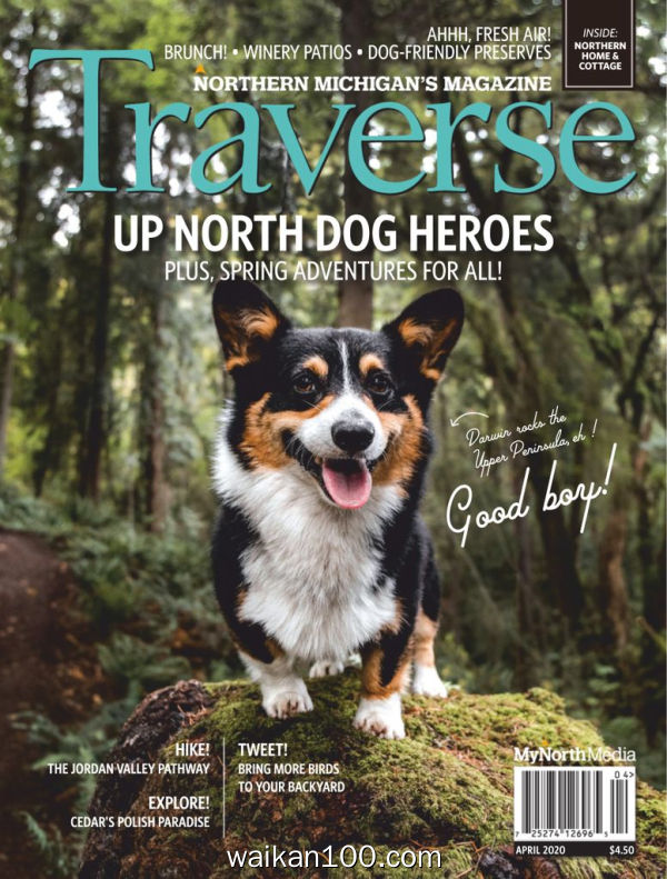 Traverse Northern Michigan's Magazine 4月刊 2020年 [104MB]