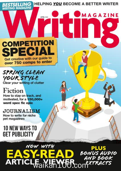 Writing Magazine 4月刊 2020年 [38MB]